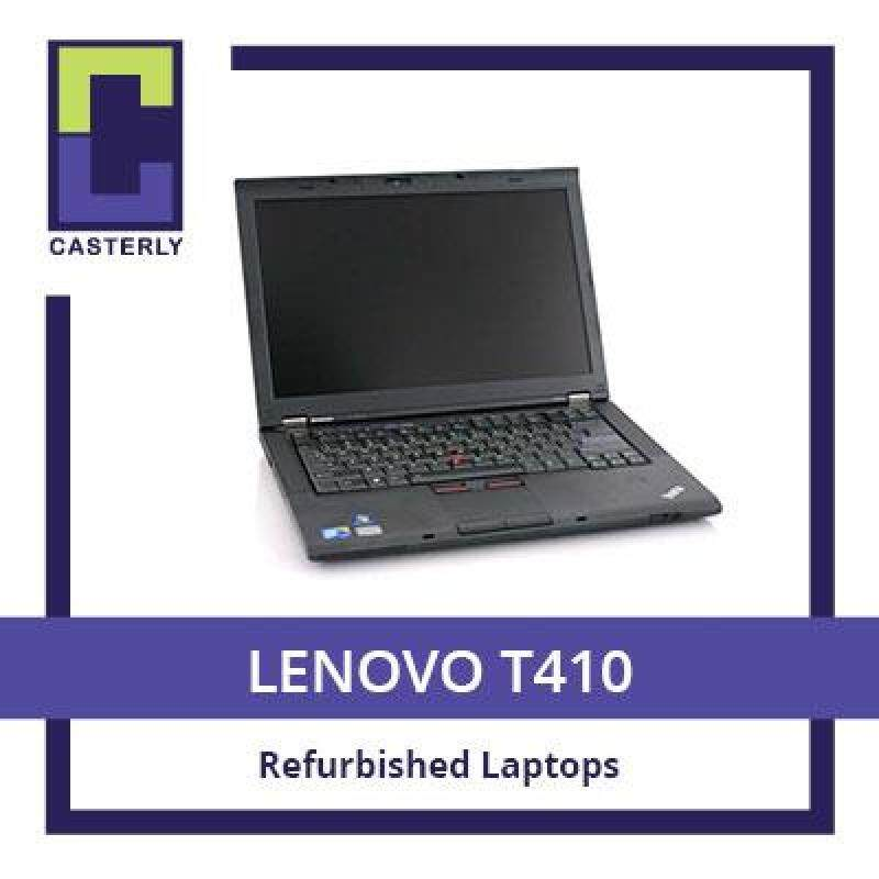 [Refurbished] LENOVO Thinkpad T410 / i5-1st Gen / 8GB RAM / 128GB SSD / Windows 7 / One Month Warranty Malaysia
