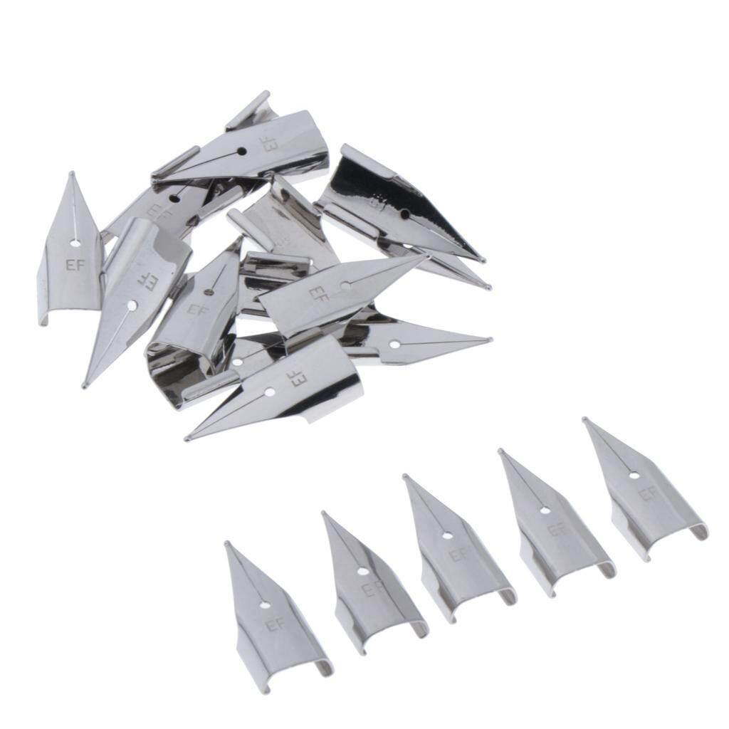 Mua Chiwanji 20 Miếng Thép Không Gỉ 0.38mm Bút Đầu Thay Thế Ngòi Nghệ Sĩ Bút Ngòi