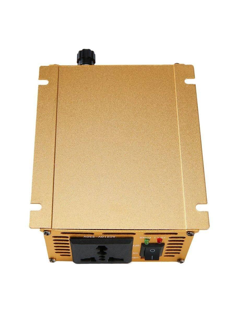 Terbaik Penjual Mobil Gelombang Sinus Pengalih Daya DC12V untuk AC220V Adaptor USB Transformer Voltase
