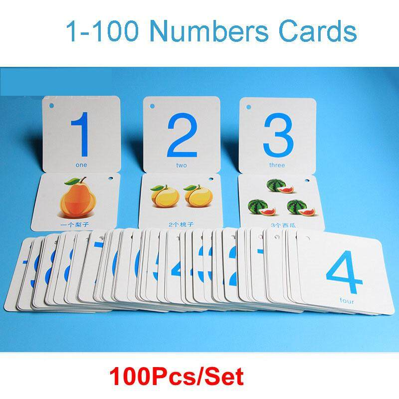 1-100 Activity Cognitive Number Digital Flash Card With Addition Subtraction Multiplication Division Symbols Math Flashcards Kids Early Learning Education Fun Game By Twins Girl.