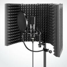 Âm Thanh Kỳ Diệu 5 Bảng Điều Khiển Micro Cách Ly Shield Vocal Booth Để Ghi Âm Phát Sóng
