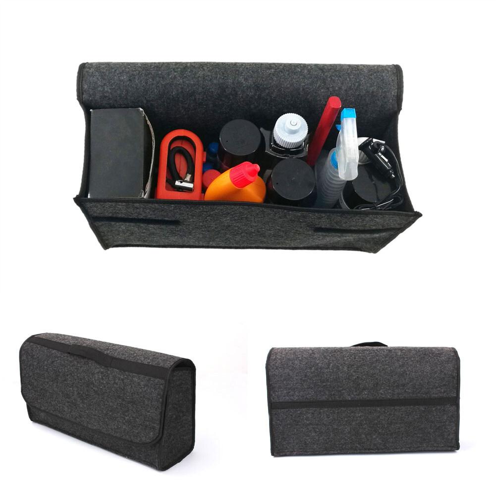 Large Anti-Slip Car Trunk Boot Storage Black Organiser Case Travel Tidy Bag NEW
