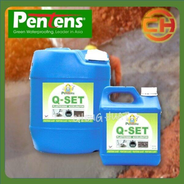 PENTENS Q - SET PLASTICISING ACCELERATOR 4 LITRE