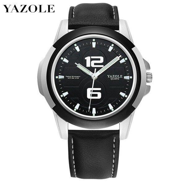 YAZOLE 418 Top Luxury Brand Watch For Man Fashion Sports Men Quartz Watches Trend Wristwatch Gift For Male jam tangan lelaki Malaysia
