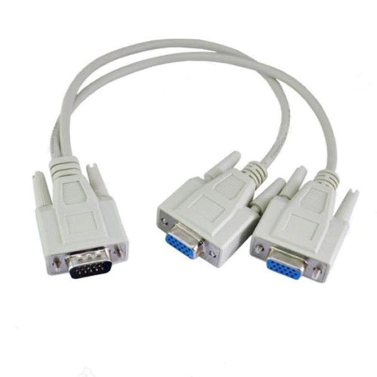 Projector Cable Vga1 Revolution 2 Female Vga One Point Two Twin Line 1m To2f Computer Tv Monitor Projector Line By Freebang.