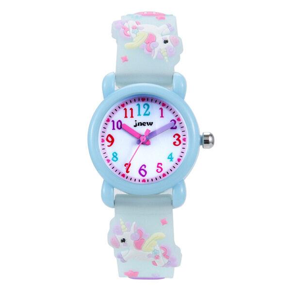 Nơi bán Đồng hồ thạch anh bé trai bé gái Unicorn đồng hồ quà Tặng chống nước hoạt hình 3D đồng hồ quà tặng sinh nhật cho trẻ em Đồng hồ trẻ em