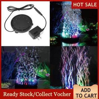 Đèn led chìm trang trí bể cá nhiều màu sắc 9 đèn led nổi bật 10.5cm - INTL thumbnail