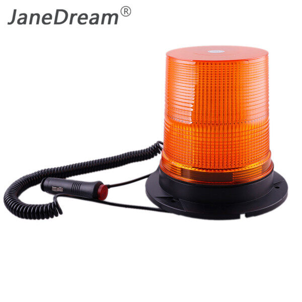 JaneDream -- Đèn Nháy Cảnh Báo Nhấp Nháy LED MT980 12V/24V 80 Đèn Báo Hiệu Khẩn Cấp Hổ Phách Dành Cho Cảnh Sát, Xe Cứu Hỏa, Xe Cứu Thương, Vòi Phun Nước Đường Phố, Xe Tải
