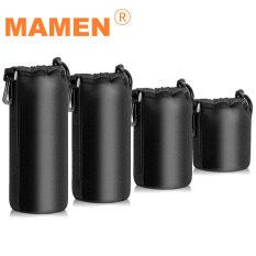 Túi đựng ống kính máy ảnh jumpflash mamen, bao đựng ống kính cỡ nhỏ, vừa, lớn và cực lớn, chống sốc cho Túi đựng ống kính máy ảnh DSLR