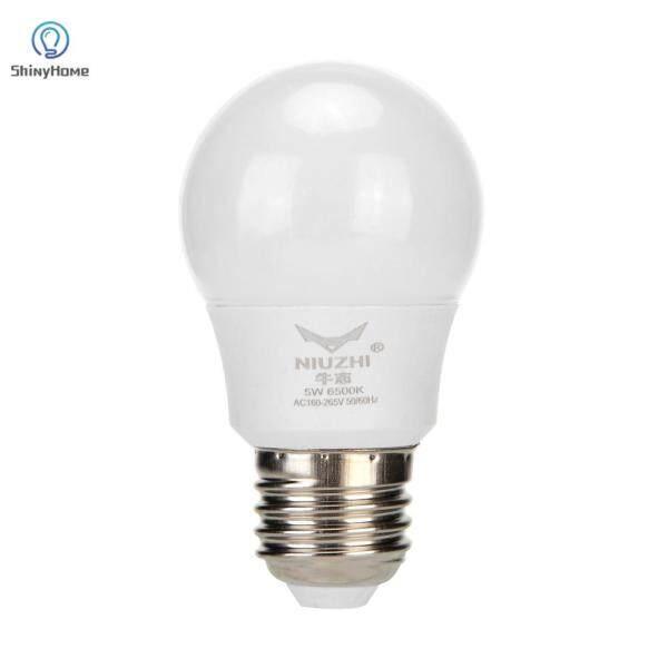 AC85-265V Đèn LED E27 5W Đèn Ngủ Chiếu Sáng Tại Nhà, Bóng Đèn Độ Sáng Cao Màu Trắng Lạnh