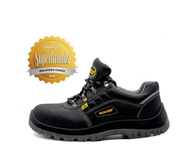 BOXTER SAFETY SHOES - LOW CUT, DURABLE, HIGH TECHNOLOGY INJECTION, LIGHT WEIGHT