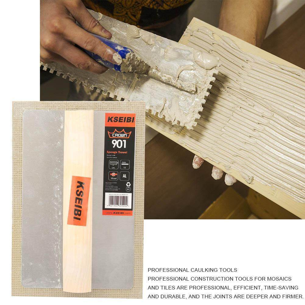 Wooden Handle Plastering and Grouting Rubber Sponge Float Tile for Mosaics and Tiles,Plastering Sponge Float,Grouting Sponge Float,Grouting Rubber Flo