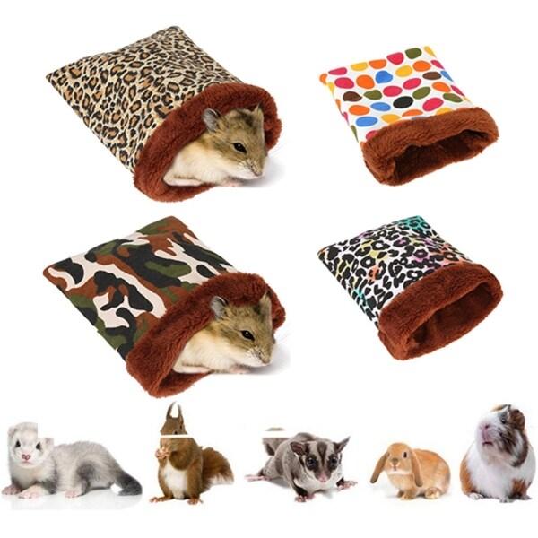 Hedgehog Sóc Động Vật Nhỏ Phụ Kiện Lồng Mùa Đông Thảm Ấm Cho Thú Cưng Túi Ngủ Nhà Hamster Giường Phụ Kiện Cho Thú Cưng