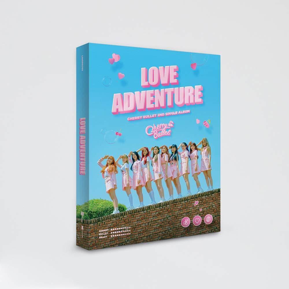 [FNC] Cherry Bullet - Love Adventure (2nd Single Album) 1 Album + 1 Folded poster - kpop