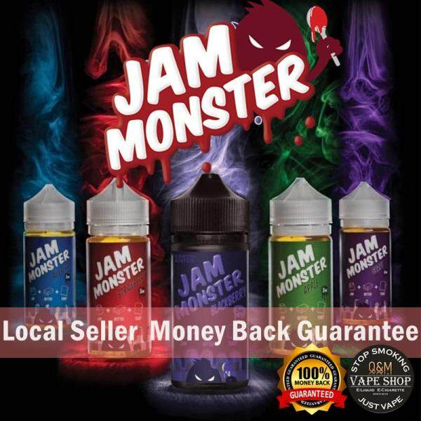 USA Jam Monster 100ml-3mg/6mg E-juice/E-liquid/Vape Flavor/Vape Juice Malaysia