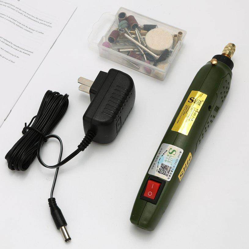 XIN Mini Electric Drill Accessories Grinding Together 12V DC Electric Tool Grinder For Grinding *Polishing Drilling Engraving Set