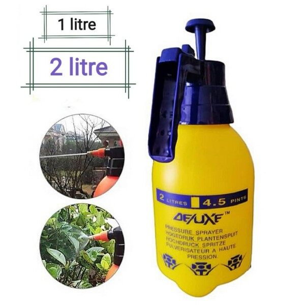 1L / 2L Pressure Sprayer Water Pump Deluxe Quality/ Portable Spray / Gardening / Cleaning / Penyembur Racunam Botol
