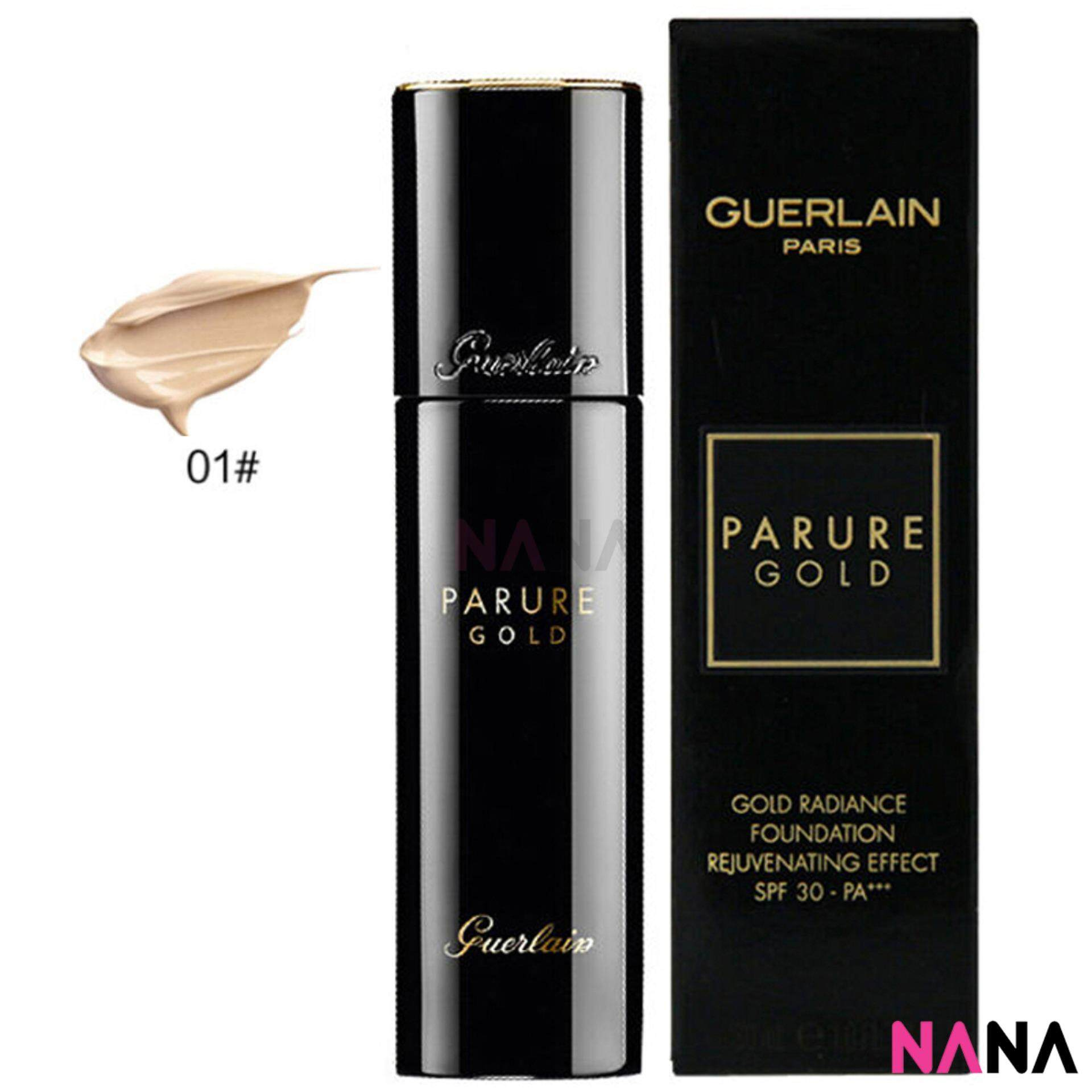 Guerlain Gold Radiance Foundation SPF30 PA+++ #1 Beige Pale