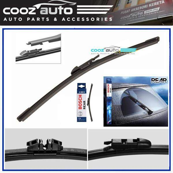 Bosch Rear Wiper Blade Exact Fit Aerotwin Flat 280mm A280H