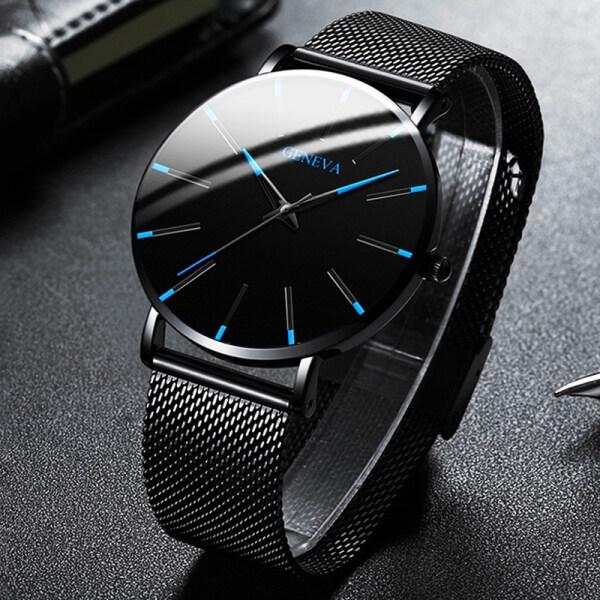 Nơi bán Đồng hồ nam Đơn Giản cao cấp GENEVA GA959 Mẫu Mới Special Design Bền Giá Sốc Đồng Hồ Nam