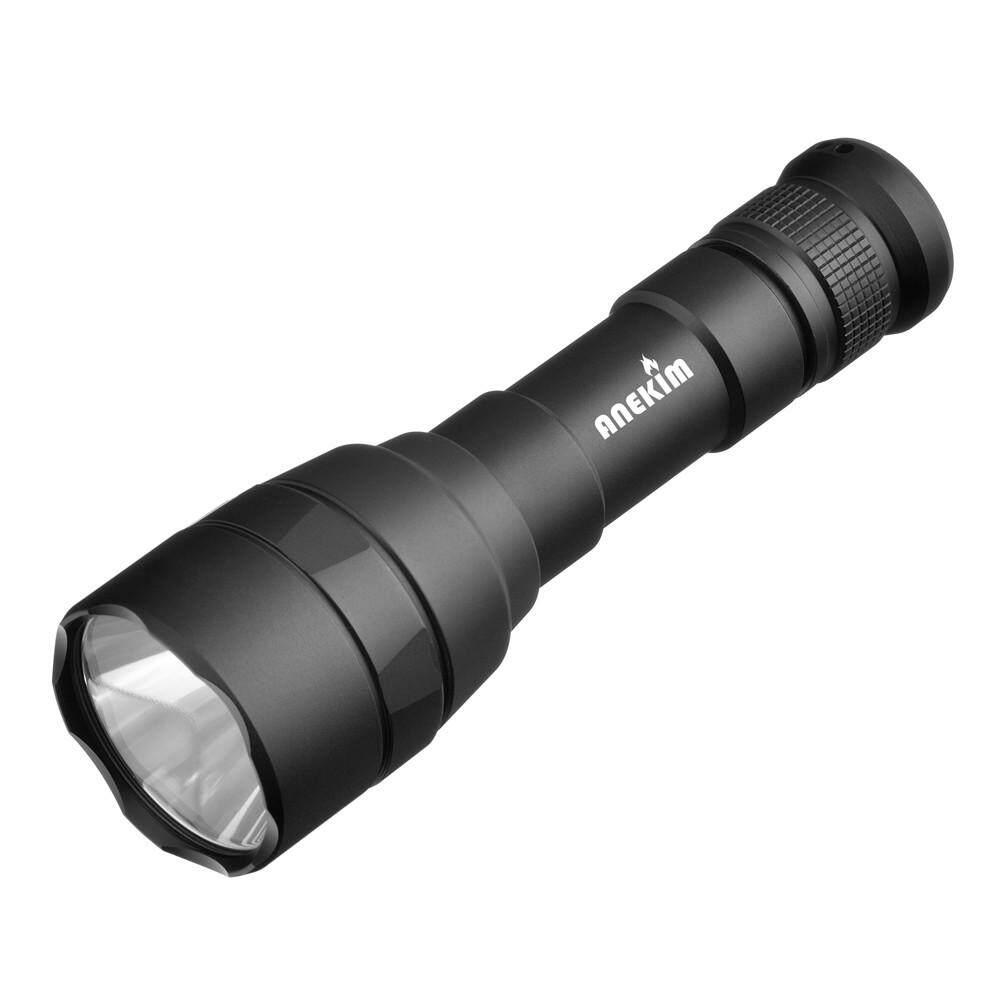 PLANIESTY 5Modes Flashlight Outdoor Waterproof LED Flashlight XML-L2 18650