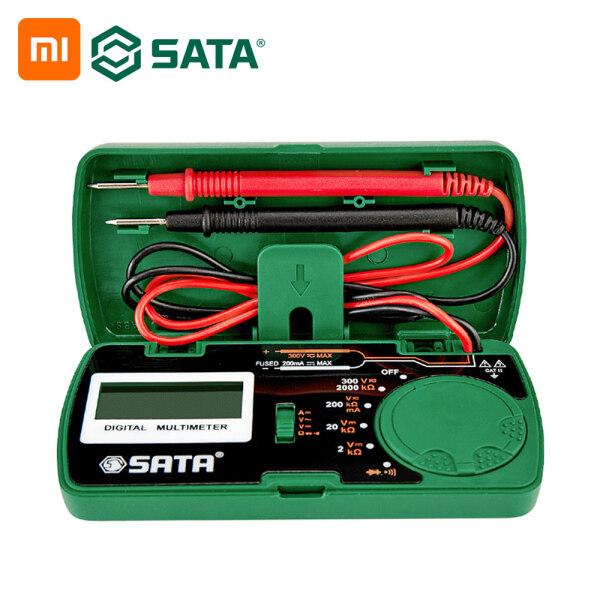 Xiaomi Youpin SATA Kỹ Thuật Số Vạn Năng Đo Lường Kỹ Thuật Số Độ Chính Xác Cao Vạn Năng Nhỏ Cầm Tay Thông Minh DY03001