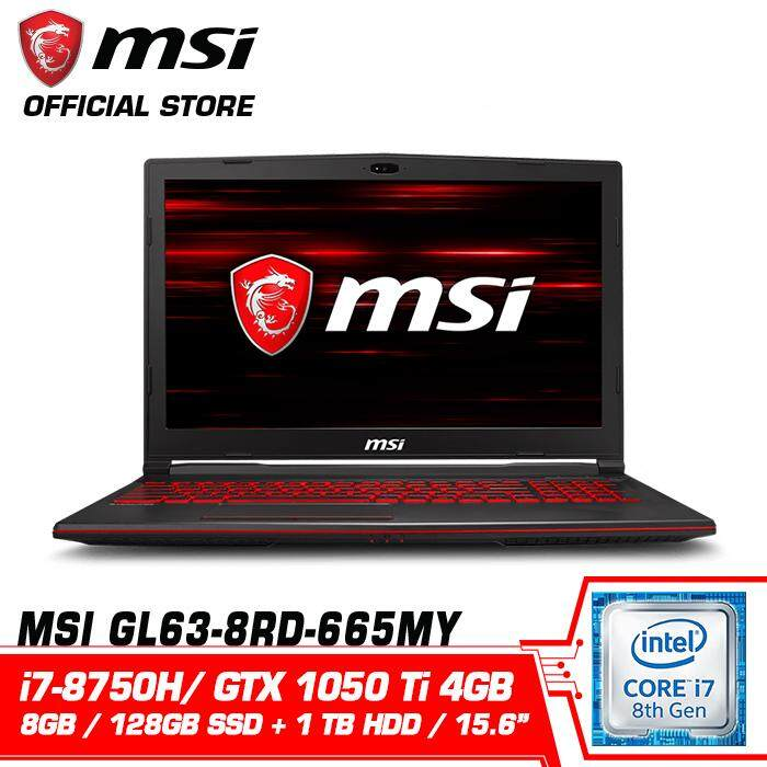 GL63 8RD 665MY (GeForce® GTX 1050 Ti 4GB) Malaysia