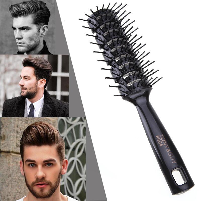Pro Làm Tóc Hair Salon Tóc Chống Tĩnh Điện Nhiệt Lược Chải Tóc Tóc Giả Tạo Kiểu Dụng Cụ Chải Khỏe Mạnh Massage Giảm Tóc mất Công Cụ