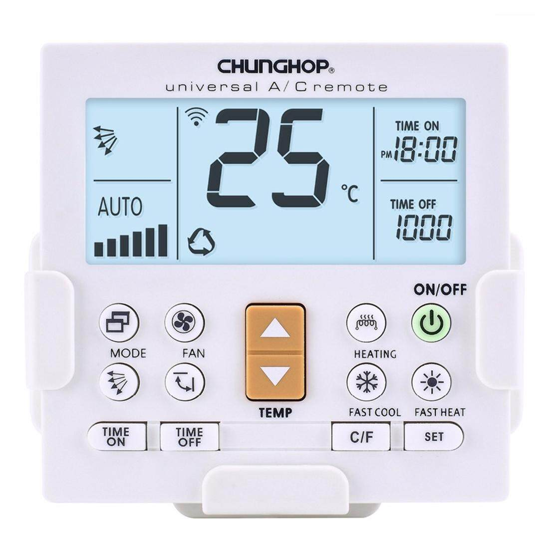 CHUNGHOP K-650E Universal LCD Air-Conditioner Remote Controller with Bracket