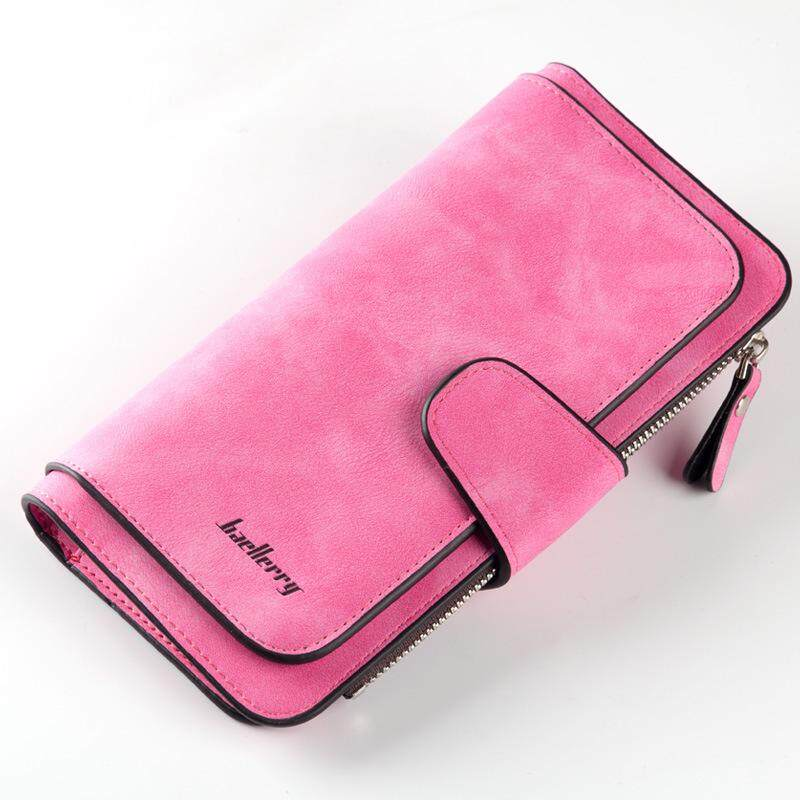 Baellerry Wallet Women leather wallets purse short girl clutch woman money bag