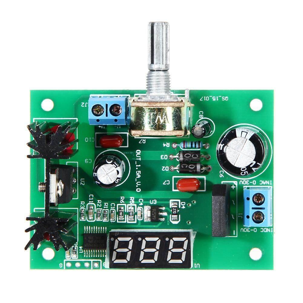 Giá [UEB] LM317 AC/DC Điều Chỉnh Bộ Điều Chỉnh Điện Áp Bước xuống Module Nguồn W/LÊ