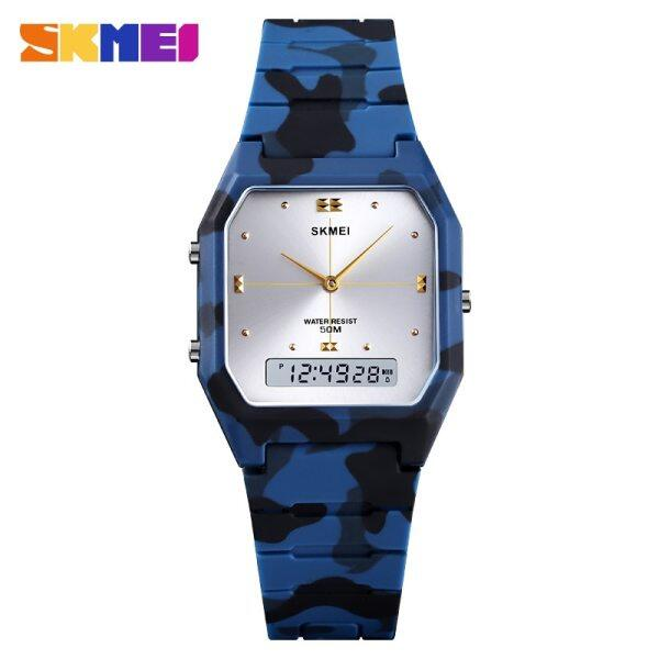 SKMEI New 3 Time Fashion Teenager Watches Chrono Alarm Children Watch Sport Digital Boys Girls Hour Waterproof Malaysia