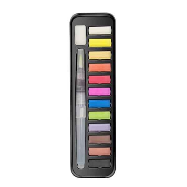 Mua 1 Bộ 12, 18, 24 Bút Màu Nước Đồ Dùng Nghệ Thuật Học Sinh Vẽ Màu Nước