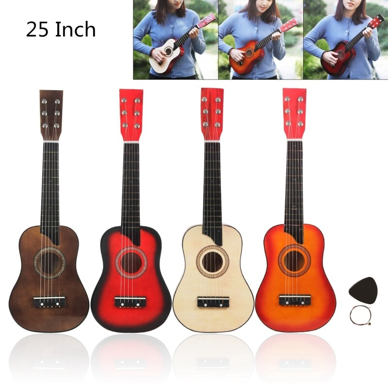 Basswood Acoustic Guitar 25 Inch with Bag for Children and Beginner Malaysia