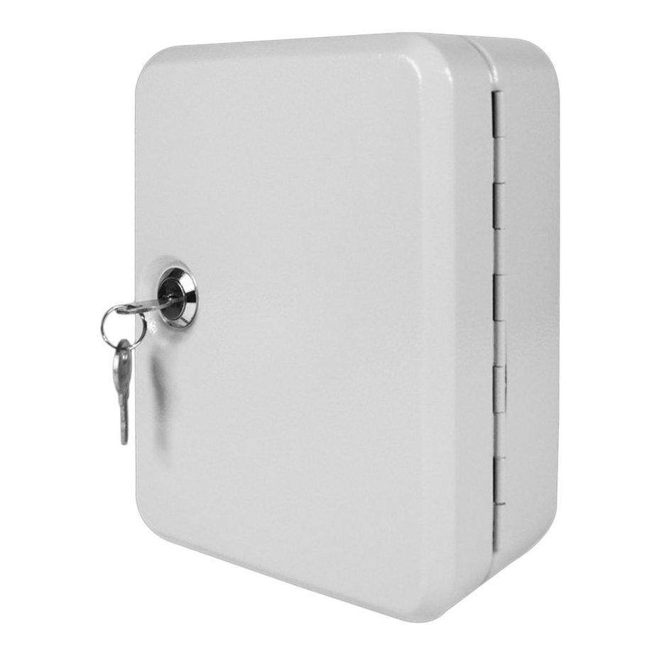 Hot Sellers 20 Tags Fobs Wall Mounted Lockable Security Metal Key Cabinet Box Storage Case