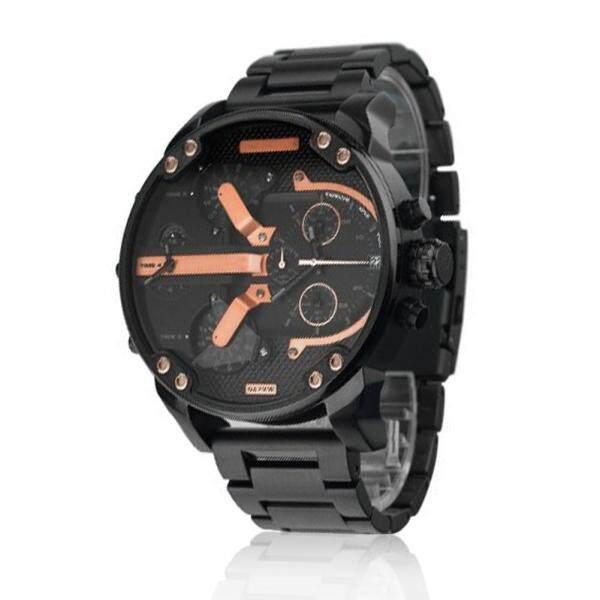 Men Fashion Luxury Stainless Steel Analog Quartz Wristwatches Malaysia