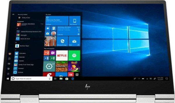 "2020 HP Envy 15 x360 15.6"" FHD Full HD(1920x1080) 2-in-1 Touchscreen Business Laptop (Intel i7-10510U, 16GB RAM, 512GB SSD) Type-C, Backlit, Fingerprint, WiFi 6, Windows 10 Malaysia"