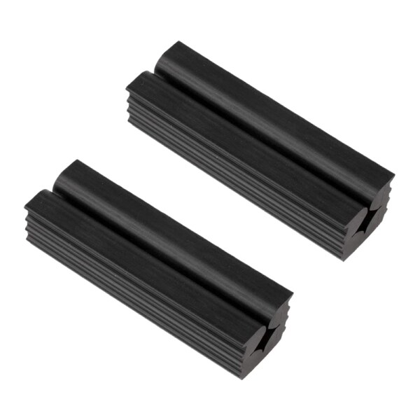 2Pcs Rubber Vise Clamp Golf Club Regripping Shaft Head Extractor Repair Accessories
