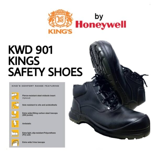 KWD 901 Kings Safety Shoes (RECOMMENDED) (Size 6-12UK)