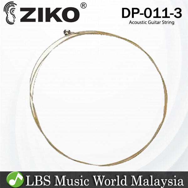 Ziko DP-011 Acoustic Guitar 3rd Loose String Extra Light Special Phosphor Bronze Bright Tone (DP011) Malaysia