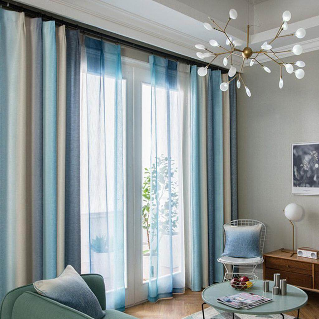 Perfk Room Darkening Thermal Insulated Blackout Decorative Window Curtain, 1 Panel