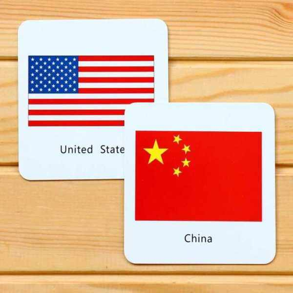 1set Baby Enlightenment Early Educational Toys 3D Cognitive Card National Flag Games Cards for Kids To Learn English Games Malaysia