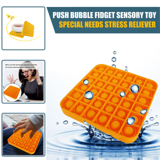 Pop It Fidget Stress Bong Bóng Đồ Chơi Đẩy Bong Bóng Fidget Đồ Chơi Cảm Giác Công Cụ Giảm Căng Thẳng Giúp Giảm Bớt Căng Thẳng Và Tăng Sự Tập Trung Bóp Mềm Đồ Chơi 6