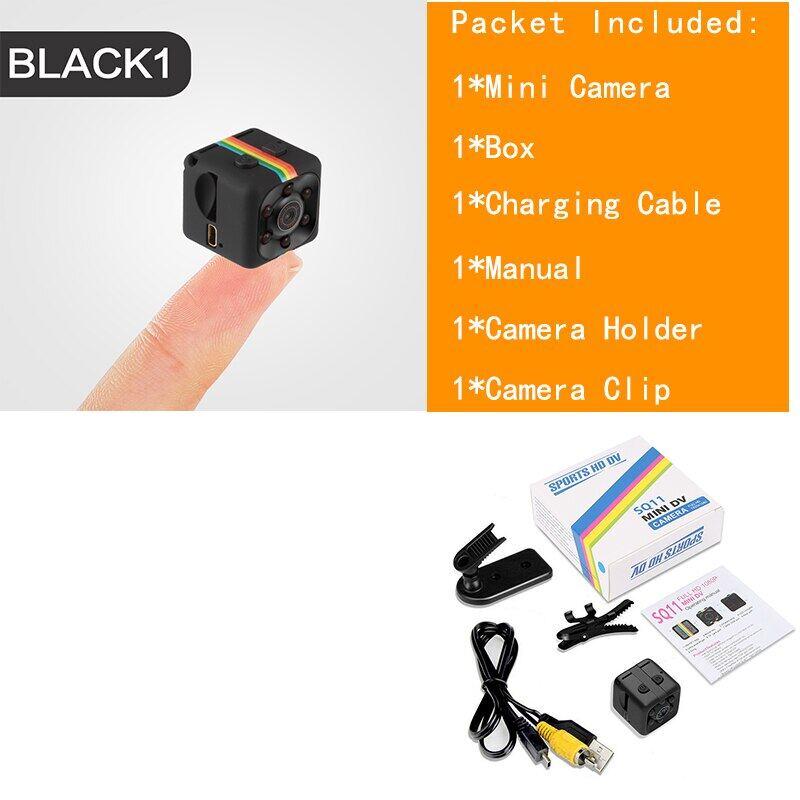 Camera Mini SQ11 Mới, Camera Nhỏ 960P, Máy Quay Tầm Nhìn Ban Đêm Cảm Biến Micro Video Máy Ảnh Máy Quay DVR DV Webcam