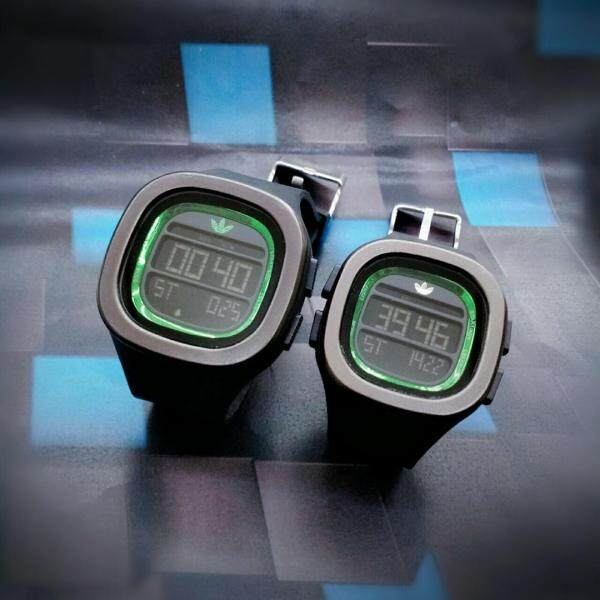 ADIDAS_Digital Couple Watch rubber Strip Digital Time Display Dial For Unisex Malaysia