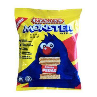 Mamee Monster Spicy Family Pack 25G x 8'S