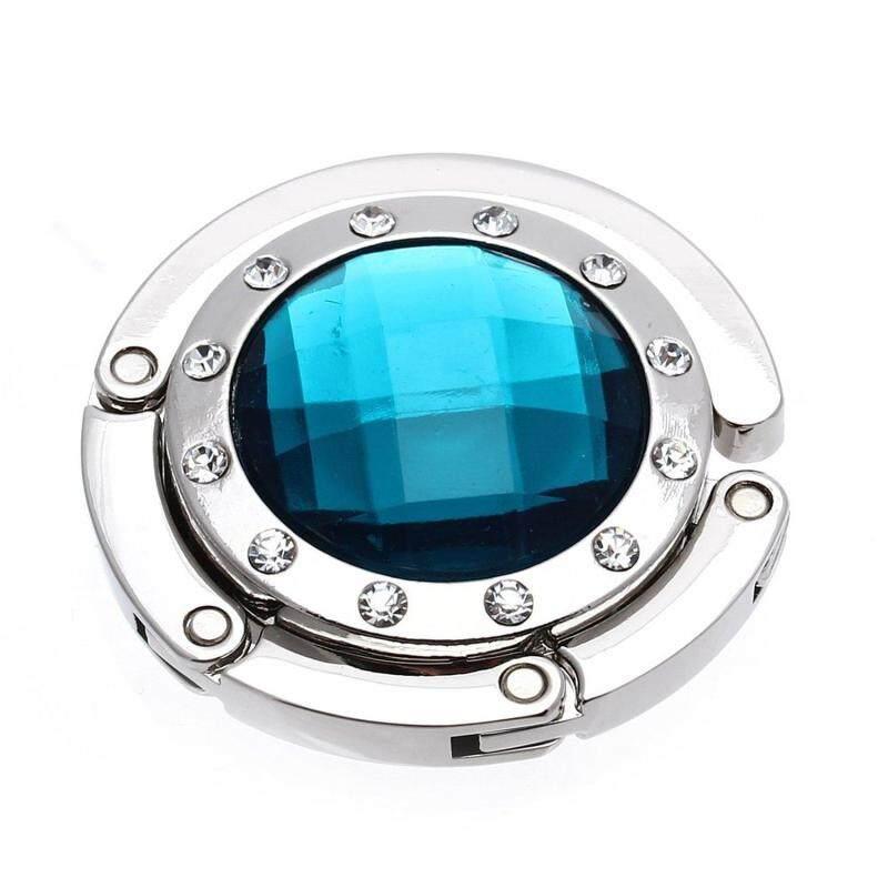 Fashion Alloy Rhinestone Crystal Hooks Blue