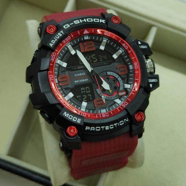 {Ready Stock} Sport_Casio_G_Shock_MudMaster Dw_1523NB NEW Dual Time Display Good Quality Rubber Strip Long Life Battery Fashion Come With Own Gift Box For Men Malaysia
