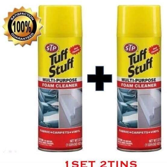 (2 Bottles) Stp Tuff Stuff Multi-Purpose Foam Cleaner 623g By Cosmoss.