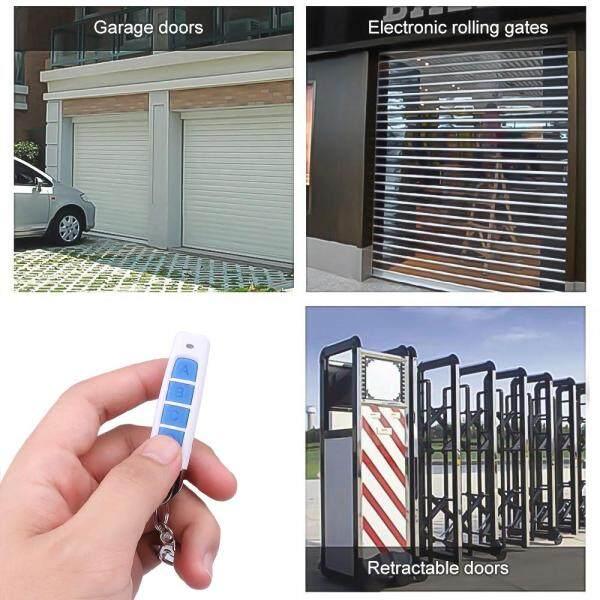 433MHZ Auto Cloning Remote Control Garage Gate Door Remote Electric Copy Controller
